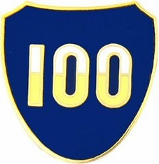 100TH INFANTRY DIVISION LAPEL PIN