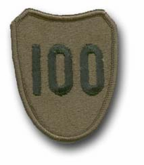 "100th TRAINING DIVISION SUBDUED 2"" MILITARY PATCH"