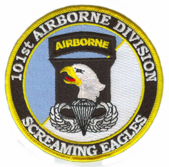 101st AB Division (with Jump Wings) Patch