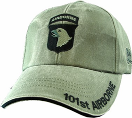 101st Airborne Ball Cap OD Green