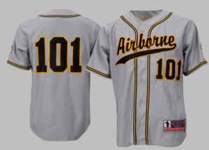 101st Airborne Division Authentic Baseball Jersey