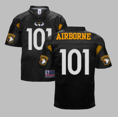 101st Airborne Division Authentic Football Jersey