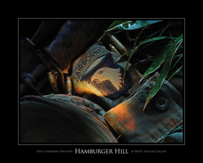 101st Airborne Division - Hamburger Hill - Giclee Print