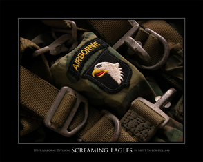 101st Airborne Division - Screaming Eagles - Giclee Print