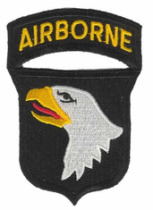 "101st Airborne Division 3"" Military Patch"
