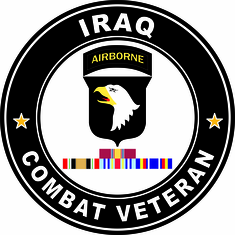 101st Airborne Iraq Campaign with ribbons
