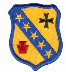 "104TH ARMORED CAVALRY REGIMENT 3"" MILITARY PATCH"