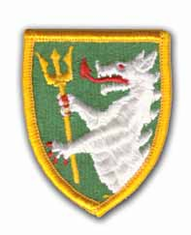 """108TH ARMORED CAVALRY REGIMENT 2½"""" MILITARY PATCH"""
