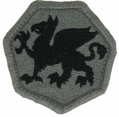 108th Training Division ACU Velcro Patch