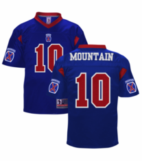 10th Mountain Division Authentic Football Jersey