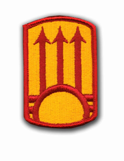 "111TH A.D.A. 2 7/8"" MILITARY PATCH"