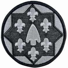 115th Support Group ACU Velcro Patch