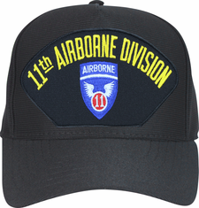 11th Airborne Division with Patch Ball Cap