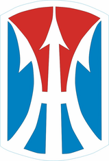 11th Infantry Brigade Decal