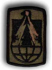 "11TH SIGNAL BRIGADE SUBDUED 3"" MILITARY PATCH"