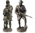 12 Inch Collectable Bronze Statues