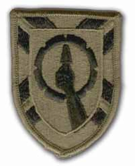 "121ST U.S. Army RESERVE COMMAND 3"" SUBDUED MILITARY PATCH"