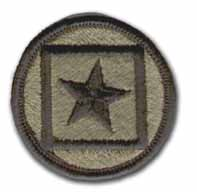 """122ND RESERVE COMMAND 2¼"""" SUBDUED MILITARY PATCH"""