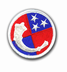 """125TH USARC COMMAND 2½"""" MILITARY PATCH"""