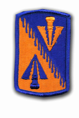 "128TH AVIATION BRIGADE 3"" MILITARY PATCH"