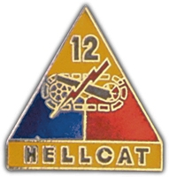 12TH ARMORED DIVISION LAPEL PIN