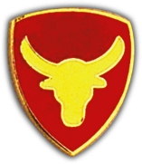 12TH INFANTRY DIVISION LAPEL PIN