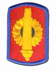 "130TH FIELD ARTILLERY BRIGADE 3"" MILITARY PATCH"