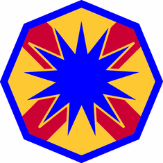 13th Corps Support Command Decal