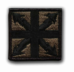 "142ND SIGNAL BRIGADE SUBDUED 2"" MILITARY PATCH"