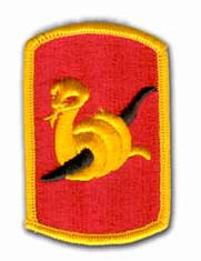 "153RD  FIELD ARTILLERY BRIGADE 3"" MILITARY PATCH"