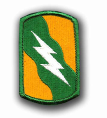 "155TH ARMORED BRIGADE 3"" MILITARY PATCH"