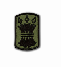 "157TH INFANTRY BRIGADE SUBDUED 3"" MILITARY PATCH"