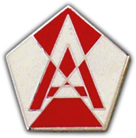 15th Army Lapel Pin