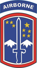 172nd Infantry Brigade Airborne Sticker