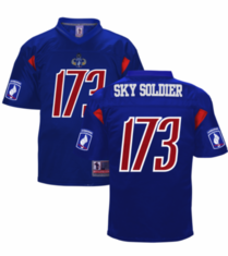 173rd Airborne Sky Soldier Football Jersey