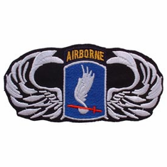 "173rd Airborne with Wings 4 1/2"" Patch"