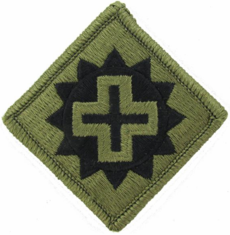 175th Medical Brigade Patch Subdued