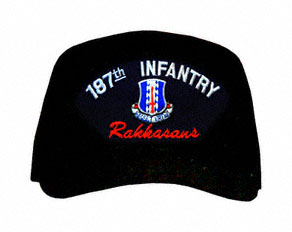 187th Infantry Division 'Rakkasans' with Patch Ball Cap