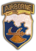 18th Airborne Lapel Pin