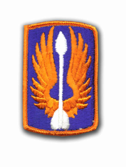 "18TH AVIATION BRIGADE 3"" MILITARY PATCH"