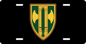 18th Military Police Brigade License Plate