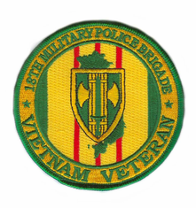 18th Military Police Brigade Vietnam Veteran Patch