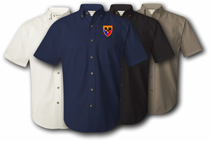 194th Armor Brigade Twill Button Down Shirt