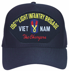 196th Light Infantry Brigade 'The Chargers' Ball Cap