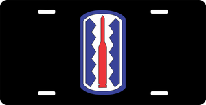 197th Infantry Brigade License Plate
