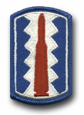 197th Infantry Brigade Military Patch