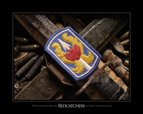 """199th Infantry Brigade """"Red Catchers"""" Giclee Print"""