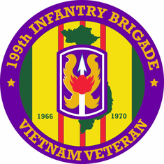 199th Light Infantry Brigade Vietnam Veteran Decal