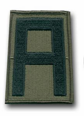 "1st ARMY SUBDUED 3 ¼"" MILITARY PATCH"