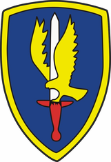 1st Aviation Brigade Decal